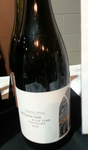 Chapel Hill Bush Vine Grenache 2010