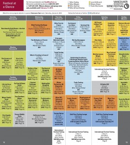 Festival at a Glance