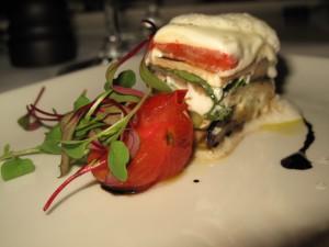 Classic Eggplant Parmesan with Mista Salad