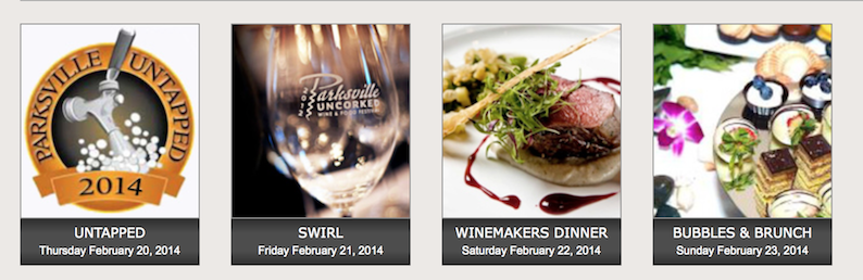 Parksville UNCORKED Wine and Food Festival Feb 20-23