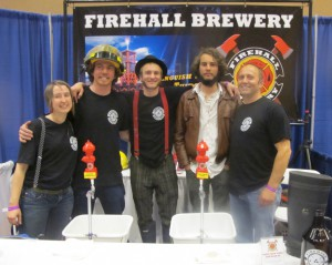 Oliver's Firehall Brewery at Fest-of-Ale in Penticton