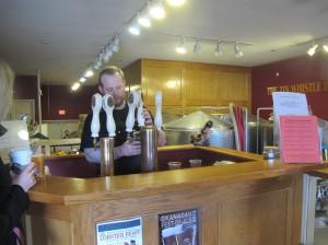 Tin Whistle brewer Jeff Todd
