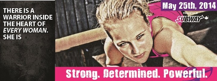 Registration is now open for 2014 WOMAN2WARRIOR