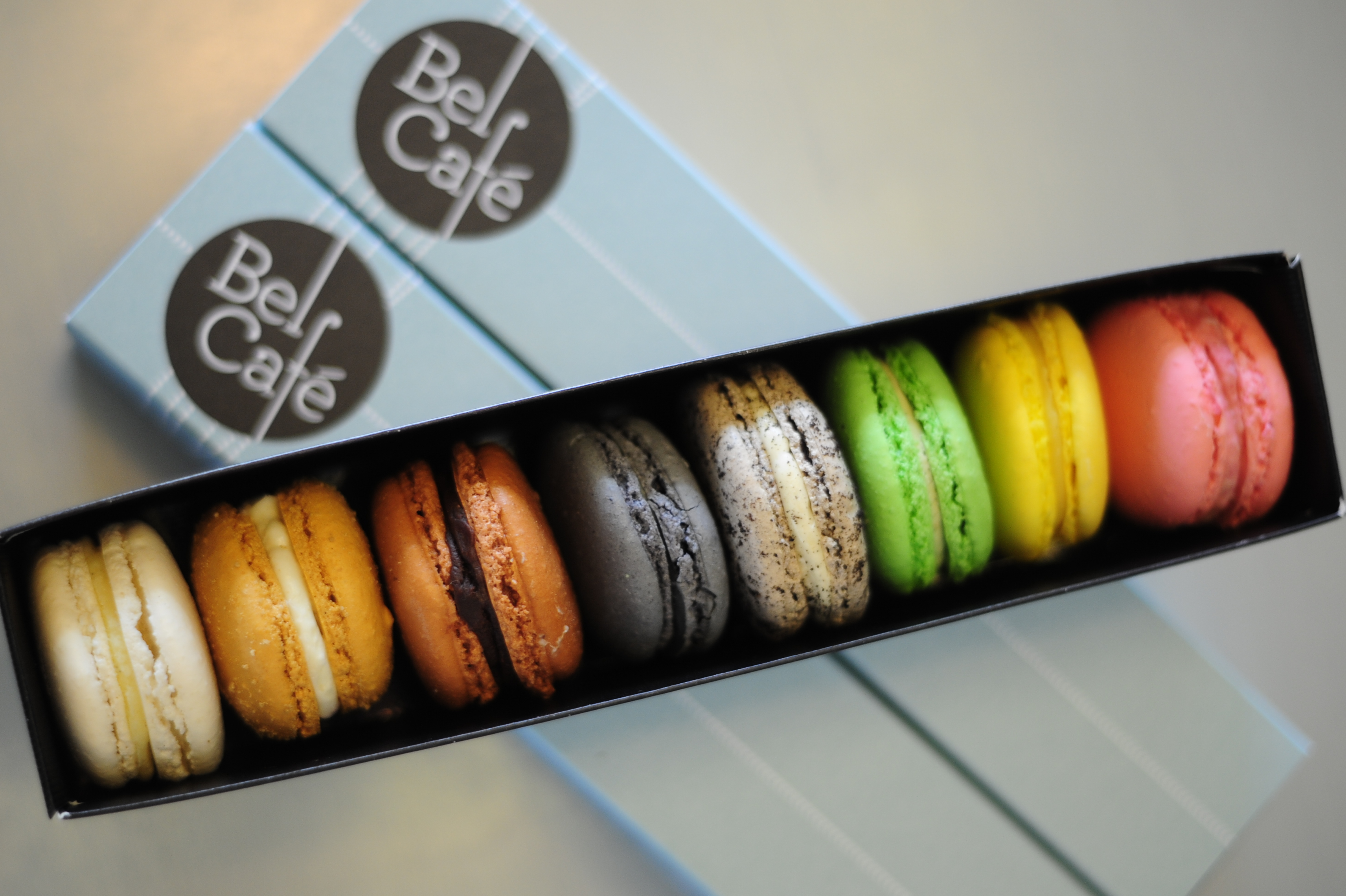 Image result for bel cafe macarons