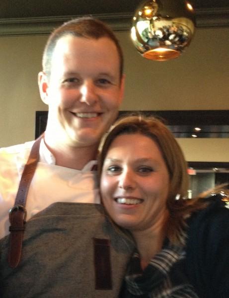Stephanie and Paul at HYCS
