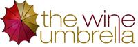 wine umbrella logo