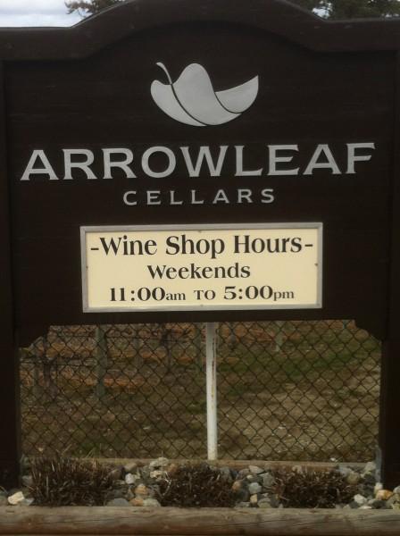 Arrow Leaf sign-2