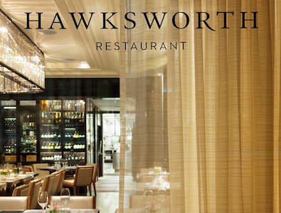 Vancouver Magazine awards Hawksworth Restaurant 'Best Upscale' for the sixth consecutive year
