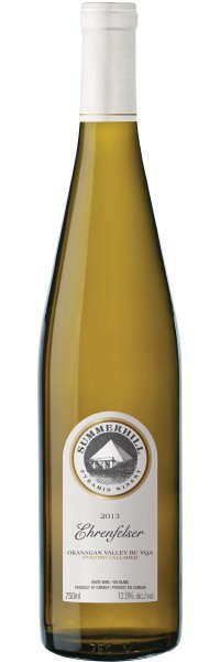 Summerhill Pyramid Winery's 2013 Ehrenfesler is a shining example of a low sulphite BC wine