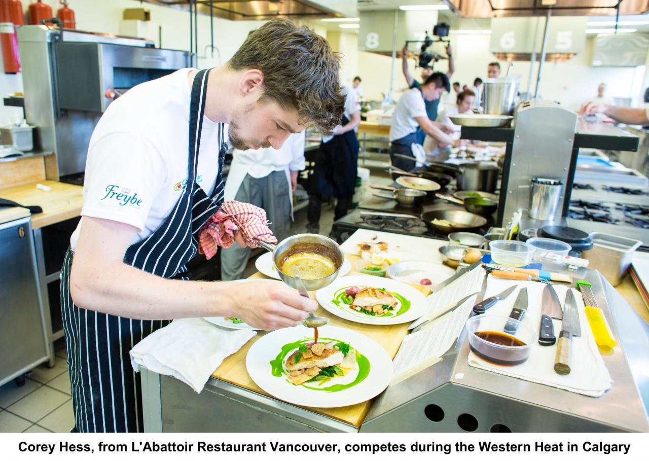 Canada's national culinary arts competition is now accepting applications Candidates from across the country will compete for $10,000 grand prize and international stage
