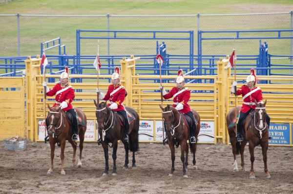 Strathcona Mounted Troop