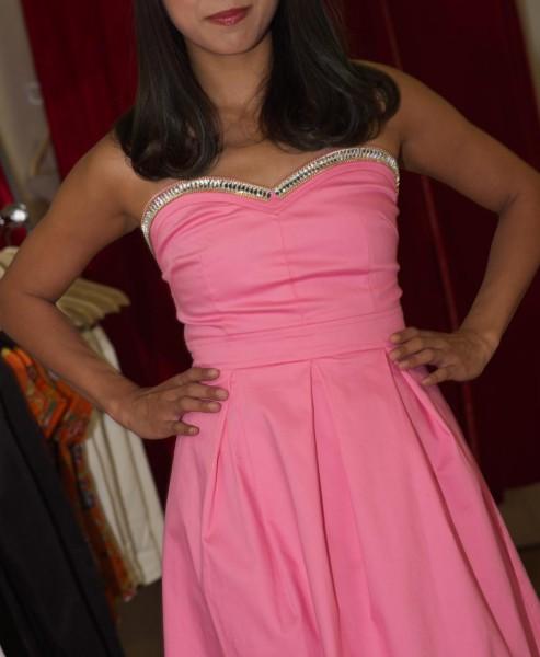 uwi pink dress