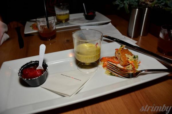 Tasty plates at Milestones Park Royal