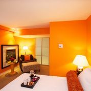 Photo of guest room courtesy of Opus Hotel Vancover