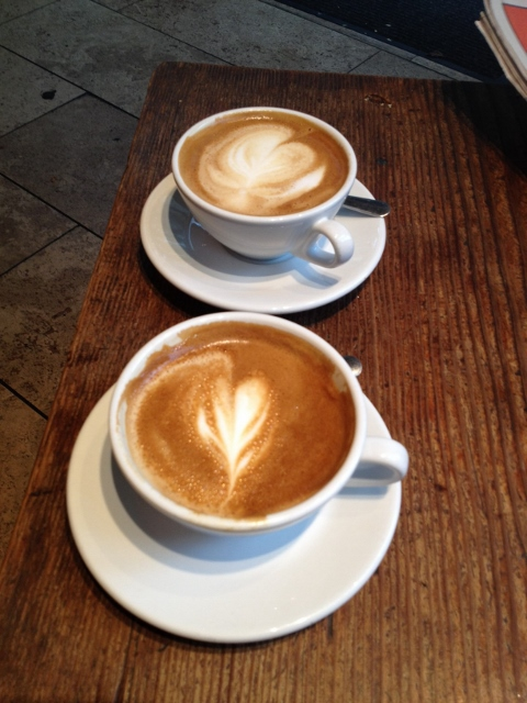 JJ Bean Coffee Roasters' artisan cappuccino made from the highest quality house roasted beans