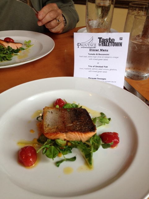 Lois Lake Steelhead is a feature at Provence Marinaside for #TOY2014