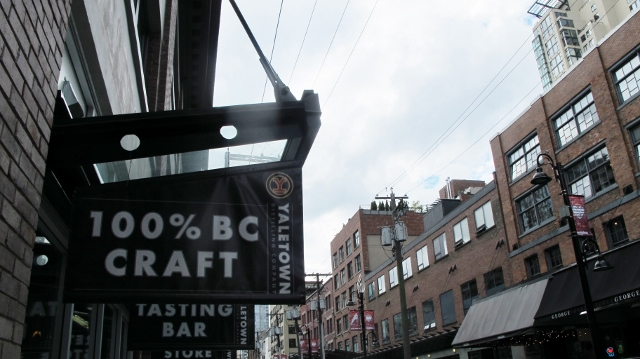 """Vancouver's """"original and best Brewpub"""" founded in 1994 in Yaletown"""