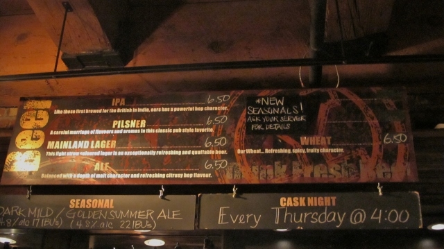 Join YBC every Thursday for its popular Cask Night