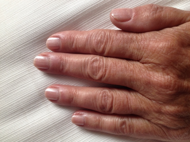 Freshly manicured at Yaletown Nails Spa