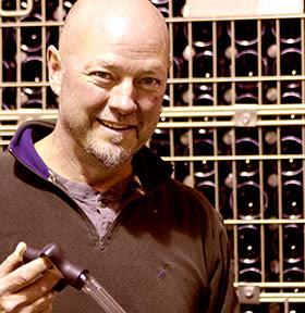 Blue Grouse winemaker Bailey Williamson.