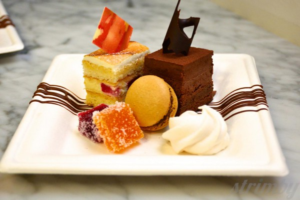 Incredible dessert selection at Ganache Patisserie