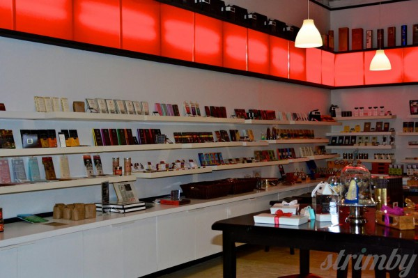 The vast chocolate selection at Xoxolat