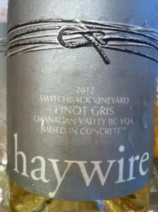 Haywire 2012 PG Switchback