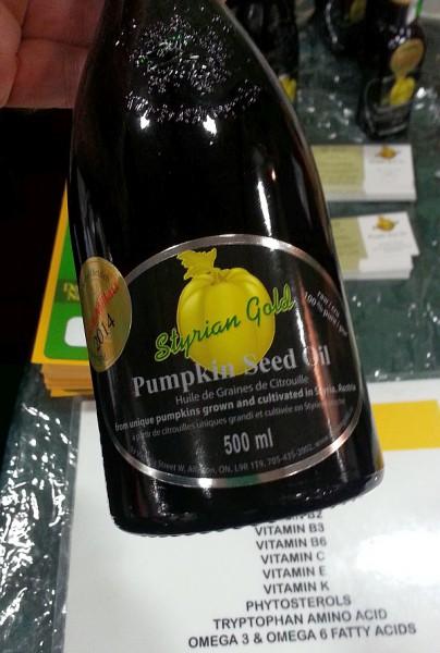 Styrian Gold Pumpkin seed oil