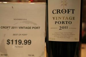 BoP Croft 2011 Vintage