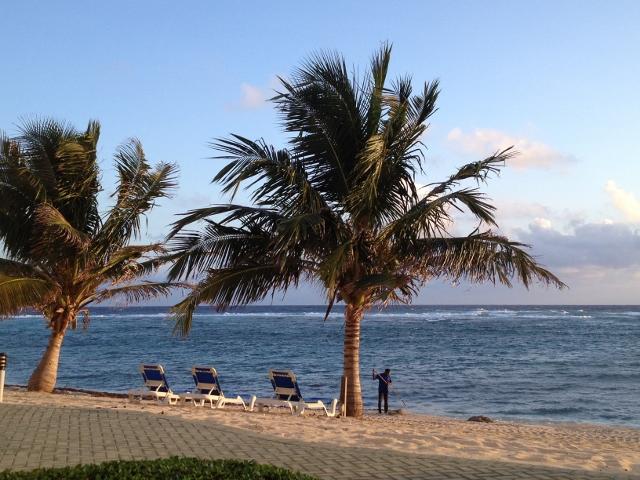 Reef Resort beach East End - RBuchanan photo