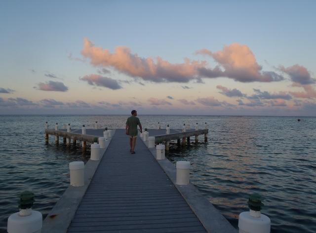 Sun sets on Cayman - RBuchanan photo