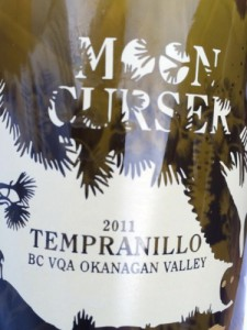 ww Moon Curser 2011 Tempranillo