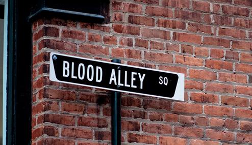 blood alley copy