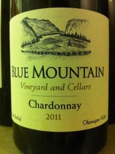 Blue Mountain Chardonnay