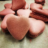 Limited edition Valentine's Macarons