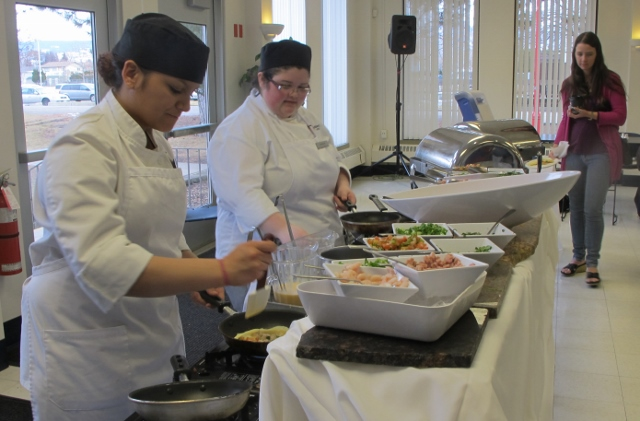 RBuchanan photo - Okanagan College Culinary students serve Black Box guests