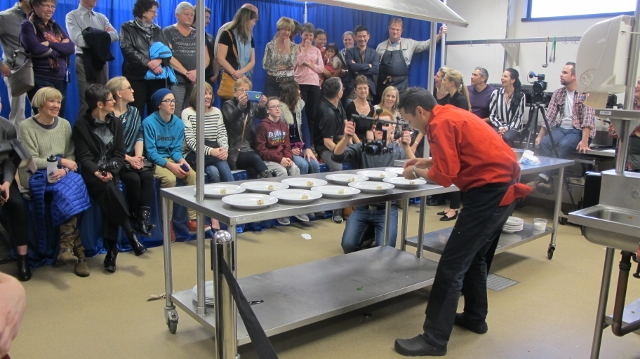 RBuchanan photo - At Black Box competition, chefs perform under pressure with an audience
