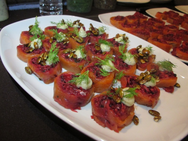 RBuchanan photo - Appetizers by 2014 Gold Medal Chef presented at VIP Reception