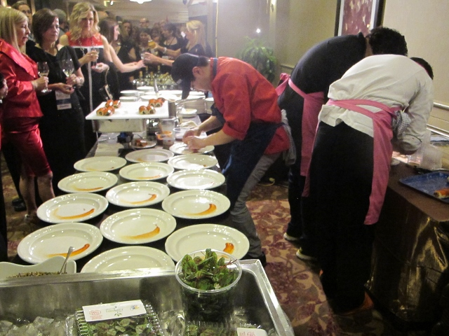RBuchanan photo - Chef Antonio plating for judges during Grand Finale