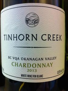 Tinhorn Creek 2012 Chardonnay
