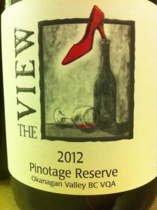 View Reserve Pinotage 2012