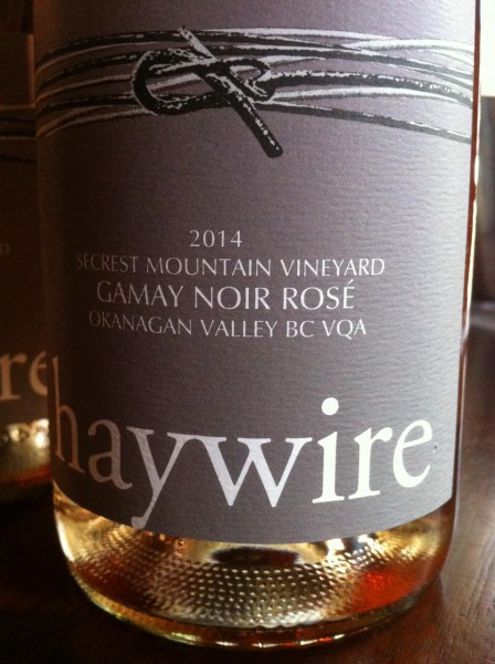 Haywire 2014 Gamay Noir