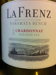La Frenz 2012 Chardonnay