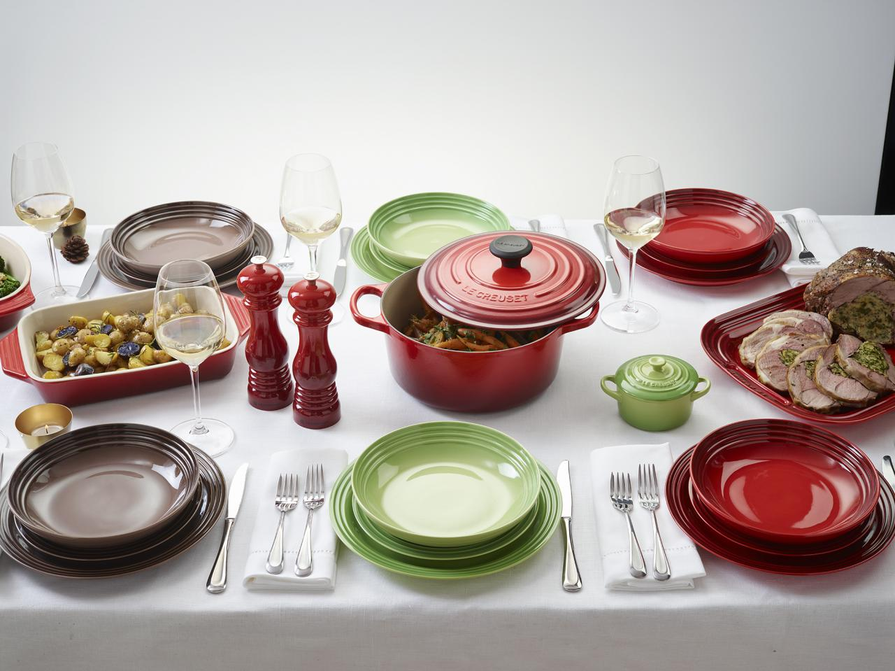 Le Creuset Debuts New Dinnerware Range In A Rainbow Of