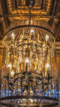 Chandelier at 27