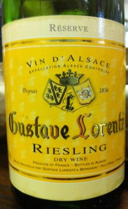 Gustave Lorentz Reserve Riesling