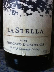 La Stella 2013 Moscato D'Osoyoos 2