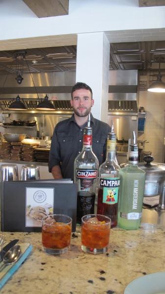 #NegroniWeek with Kelowna's Pilgrim & Pearl bartender Karl