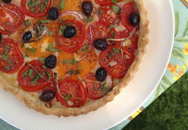 Provence tomato tart