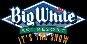 big white small logo